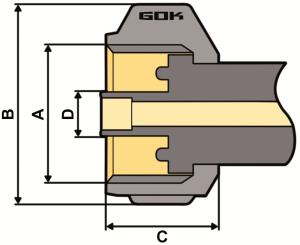 Purivox Gasdruckregler KLF Zeichnung