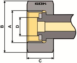 Purivox Gasdruckregler SHELL Zeichnung