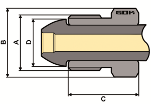 Purivox Gasdruckregler POL Zeichnung